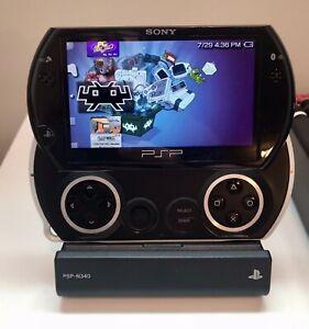Ultimate PSP Go Bundle: System, Dock/Cradle, Component Cables, Charger, M2 Cards