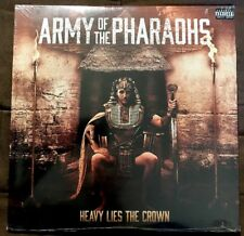 ARMY OF PHARAOHS Heavy Lies The Crown SEALED! Clear 2LP Jedi Mind Tricks Apathy