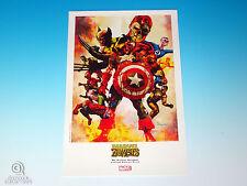 Marvel Zombies Captain America Limited Edition Print Suydam Marvel Universe 2008