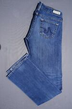 """AG 'The Tomboy"""" Relaxed Straight Stretch Denim Boyfriend Jeans. Women's 25R GUC!"""