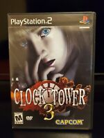 Clock Tower 3 PlayStation 2 PS2 Capcom Complete Case/Manual Rare