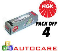 NGK Laser Platinum Spark Plug set - 4 Pack - Part Number: PTR5A-10 No. 5055 4pk