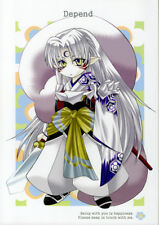 InuYasha Inu Yasha Doujinshi Comic Sesshoumaru Sesshomaru x Rin Depend