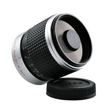 300mm F6.3 Super Telephoto Mirror Lens for M43 Mount Panasonic Lumix G7 GH5 GH4