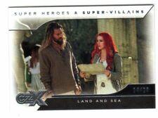 2019 Cryptozoic Dc Czx Super Heroes Silver Land Sea Aquaman Mera 14/20 Card #5