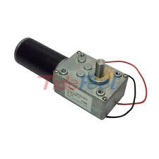 Reversible 12V Electrical Little DC Worm Gear Motor 470RPM High Speed Metal Gear