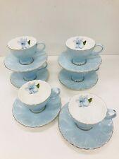 Set of Six Fine Bone China Coffee Cup&saucer
