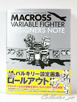 3 - 7 Days | Macross Variable Fighter Designers Note Art Book from JP