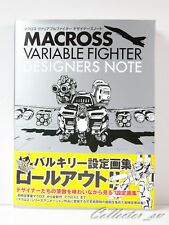 3 - 7 Days Macross Variable Fighter Designers Note Art Book Brand New from Japan