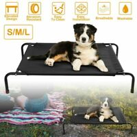 Large Dog Bed Elevated Outdoor Raised Pet Cot Indoor Durable Steel Frame S/M/L