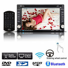 6.2'' Double 2DIN In Dash GPS Navi Car DVD Player Bluetooth Auto Stereo Radio TV