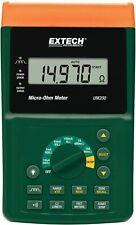 New Extech Um200 High Resolution Micro Ohm Meter Precision Meter