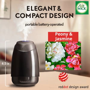 Air Wick Mist Diffuser + 1 PEONY and JASMINE Essential Oils Refill Upto 45 Days