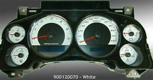Daytona Edition Custom Gauge Face for 2007-2013 Chevrolet GMC Truck & SUV Gas