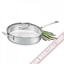 100% Genuine! SCANPAN Impact Stainless Steel 28cm 3.2L Saute Pan! RRP $169.00!