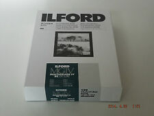 ILFORD MGIV RC DELUXE 5X7 PEARL 100 DARKROOM PAPER ***Free P&P***