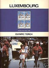 LUXEMBOURG 1984 LOS ANGELES OLYMPICS TORCH RUNNER