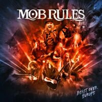 MOB RULES - BEAST OVER EUROPE   CD NEU