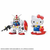 Imported SHIPPED FAST! SD EX-STANDARD Sanrio Hello Kitty // RX-78-2 GUNDAM