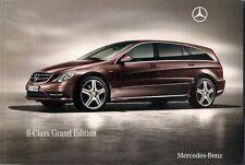 Mercedes-Benz R-Class Grand Edition 2009-10 UK Market Sales Brochure 300 350 CDi