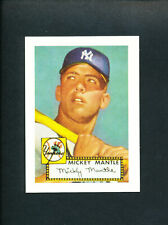 1952 TOPPS BASEBALL MICKEY MANTLE rookie REMAKE RC
