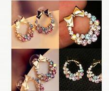 Marquise Alloy Stud Costume Earrings