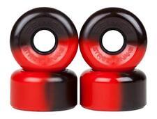Sims Quad Skate Wheels Street Snakes 62mm/78a - Black/Red
