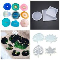 Coaster Resin Casting Silicone Moulds Fruit Tray DIY Handmade Tools Epoxy Craft