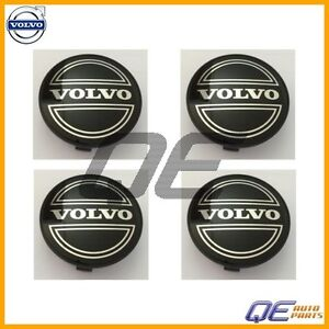 Volvo S40 V40 Set of 4 Genuine Volvo Center Hub Cap For Alloy Wheel 30638643