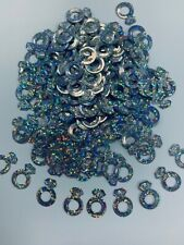 ENGAGEMENT RING CONFETTI TABLE SPRINKLES SILVER COLOUR TABLE DECORATIONS UK!!