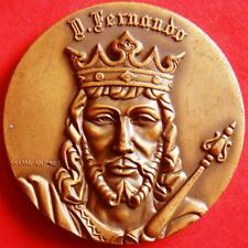 King Ferdinand I of Portugal The Handsome Monarchy Collection Bronze Medal!