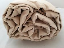 King Duvet Comforter Cover Cotton Bamboo Sand stone 300TC Company Store Beige