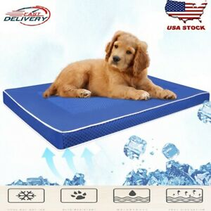 New Pet Dog Bed Washable Summer Ice Cool Mat Portable Small Big Accessories US**
