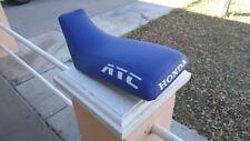 Honda ATC350X Logo Blue Standard Seat Cover #nw1826mik1825