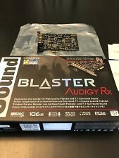 Sound Blaster Audigy Rx  PCIe 7.1 Card SB1550