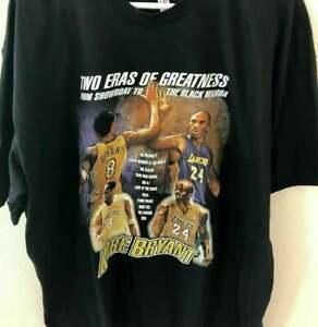 Vintage Classic Kobe Bryant Reprinted Black Unisex T-Shirt, Mamba Kobe Bryant 8