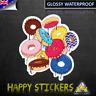 Simpson Dripping Melting Donut Luggage Car Skateboard Decal Vinyl Sticker