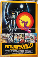 soggettone film FUTUREWORLD Peter Fonda Blythe Danner 1977