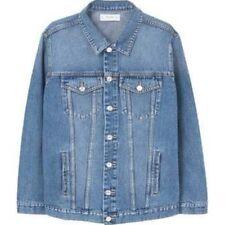 Mango Medium Wash Denim Jacket Medium Blue Woman Size Uk M LS171 PP 03