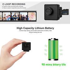 918R Full HD Knopfkamera Spy-Cam für Videoaufnahmen mit Webcam-Funktion