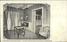 Boston MA Jordan Marsh Reception Room c1905 Adv Postcard