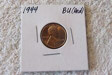 1944 Lincoln Cent (CHOICE BU RED) - Brilliant Red Color!!
