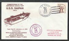 USS Saipan LHA-2 Commissioning