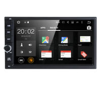 "Android 8.1 Double DIN 7""HD Auto Car Stereo GPS Sat Navi DAB+ WiFi Radio Player"