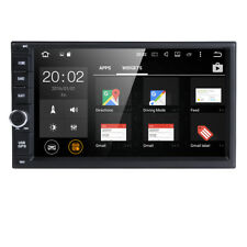"7"" HD 2Din Car Stereo Player Bluetooth Radio WIFI GPS Nav Quad Core Android 6.0"