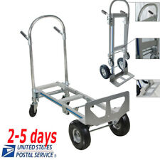 Hand Truck  Aluminum Hand Truck 770LBS Convertible Hand Truck from 2 to 4 wheels