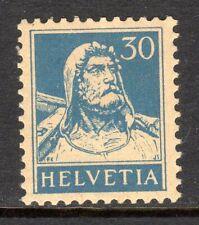 Switzerland - 1921 Definitive Tell -  Mi. 169 yb (Grilled) MH