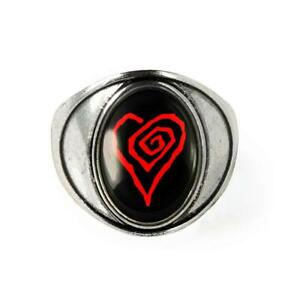 Marilyn Manson Twisted Heart Gothic Handmade Ring 7