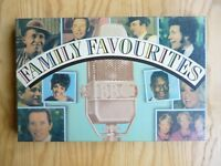 """VARIOUS ARTISTS  """" FAMILY FAVOURITES """"  4 CASSETTE BOX SET BY READERS DIGEST"""