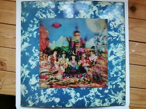 Rolling Stones LP Their Satanic Majesties Request Very Rare 1st Pressing